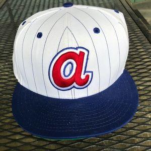 "Atlanta Braves ""New Era MLB"" Cap."